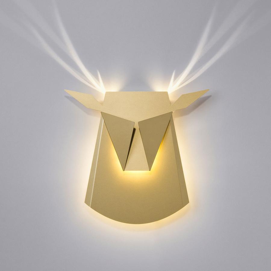 Lámpara Moderna Diseño De Alce