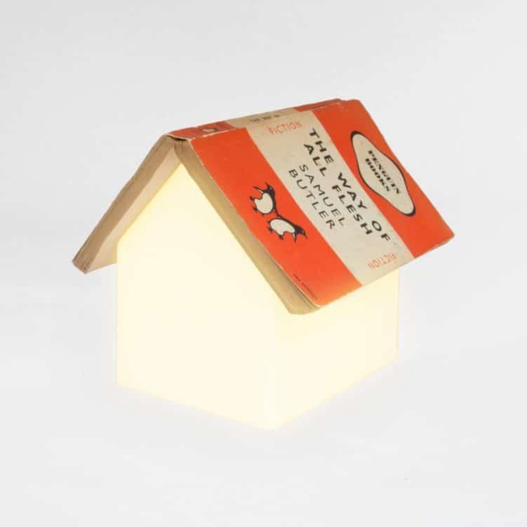 Lámpara para libros