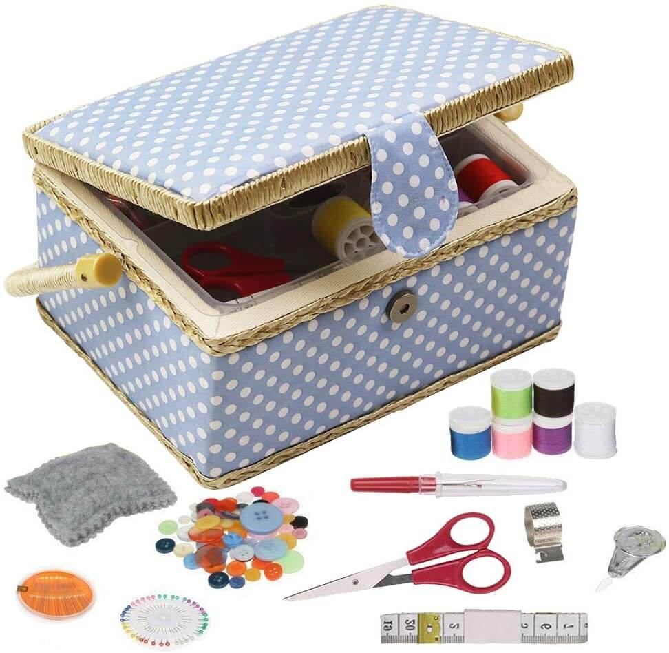 Kit de costura con accesorios